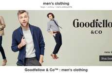 Novel Menswear Brands - 'Goodfellow & Co.' is Target's First Ever Menswear Private Label