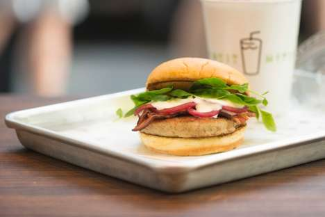 Eel Burger Collaborations - Shake Shack with Chef Fergus Henderson are Offering a Slippery Specialty