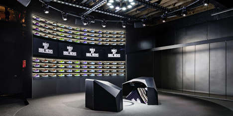 In-Store Sneaker Creators - The 'Nike Makers Experience' Lets Consumers Create One-of-a-Kind Shoes