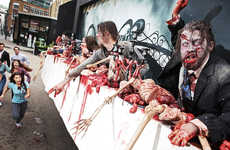 Living Zombie Billboards