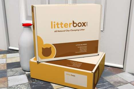 Litterbox's Service Simplifies One-Time and Monthly Ordering