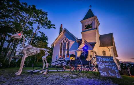 Spooky Cemetery Events
