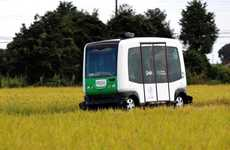 Seniors-Shuttling Autonomous Cars - This Rural Driverless Shuttle Bus Trial Transports the Elderly