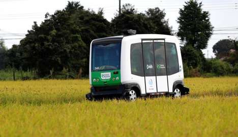 Seniors-Shuttling Autonomous Cars