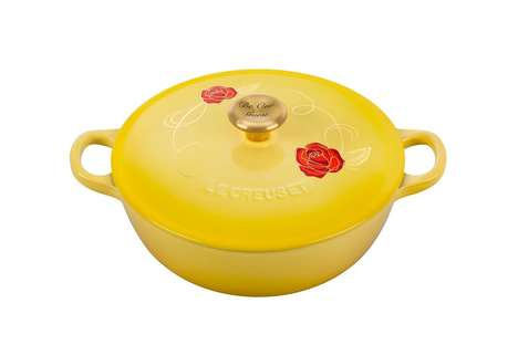 Princess Gown-Inspired Cookware - Le Creuset's Cast Iron Pot Was Inspired by 'Beauty and the Beast'