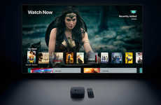 Total Entertainment Streaming Boxes - The Apple TV 4K Streams Content in a Stunning Format