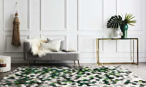 Artful Cowhide Rugs - Art Hide Delivers the Old World Charm of Cowhide with a Contemporary Edge