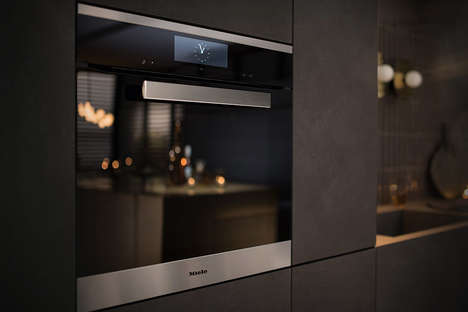 Food-Monitoring Radio Wave Ovens - The Miele Dialog Oven Cooks and Keeps an Eye on Dishes