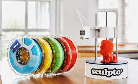 App-Connected 3D Printers