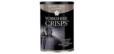 Seafood-Flavored Gourmet Crisps - Yorkshire Crisps' Upscale Flavor Was Inspired by Fish and Chips
