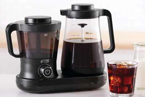 Ultra-Fast Cold Coffee Makers - The 'Dash Rapid' Cold Brew System Prepares in Just Five Minutes