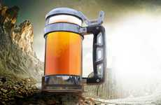 Craft Beer-Specific Mugs - The 'KRAMSTEIN' Craft Beer Steins Enhance Artisan Libations
