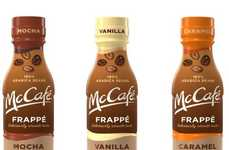 Bottled QSR Coffee Drinks - The Prepackaged McDonald's McCafe Frappes are Set to Launch in 2018