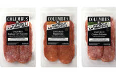 Antibiotic-Free Uncured Meats - The Columbus Craft Meats Uncured Pepperoni and Salami are Savory