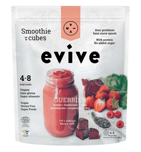 Instant Smoothie Cubes
