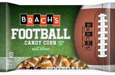 Football-Shaped Candies - Brach's Fall Candy Corn Boasts a Fun Sports-Inspired Design