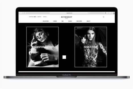 Couture E-Commerce Debuts - The Givenchy E-Commerce Platform Will Include Fashion Week Livestreams