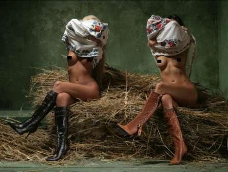 Racy & Violent Flashback Footwear Ads