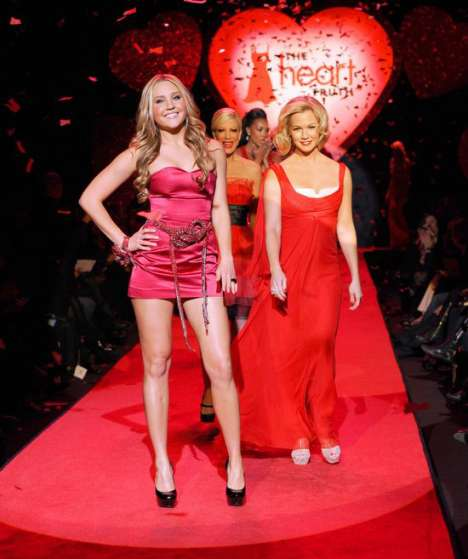Blood Red Charity Gowns