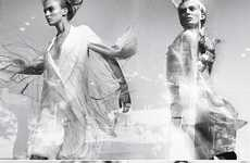Aerodynamic Futuristic Fashion - Craig McDean Takes You Through A 'Timewarp' in W Magazine