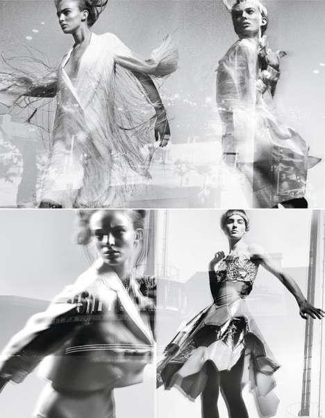 Aerodynamic Futuristic Fashion