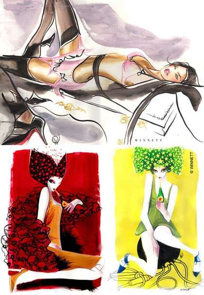 Provocative Watercolors