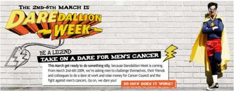 Playing Truth or Dare with Cancer - Cancer Council of Australia 'Daredallion' Campaign