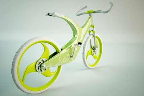 White Eco Bicycles