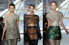 Animal Skin Fashion - Mulleavy Twins Show Love of Snakes and Alligators at Rodarte