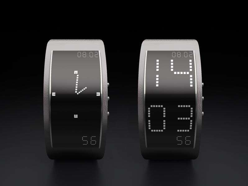 Transformer ePaper Watches