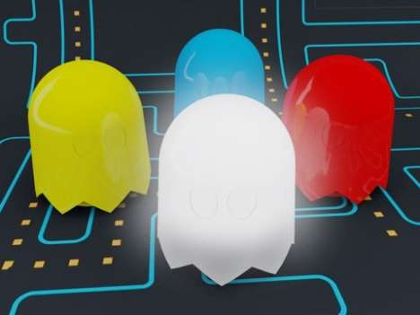 Retro Arcade Nightlights - Fend Off Your Nightmares With Help From Pacman's Enemy