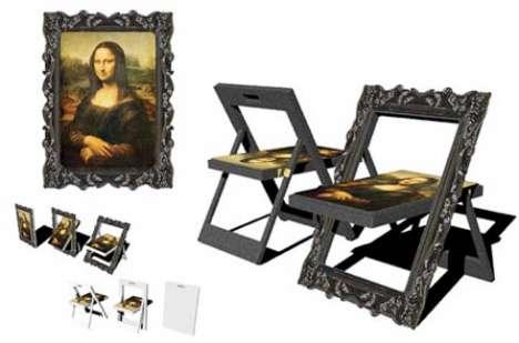Stow-Away Art Furniture