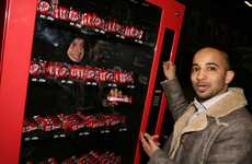 Human Vending Machines - Kit Kat's Man-Powered Promo at London Victoria