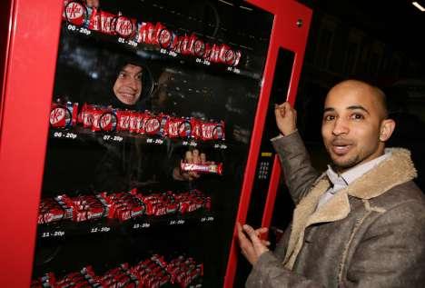 Human Vending Machines