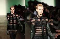 Lace Femme Fatale Fashion - Max Azria Proves Black is Still Sexy