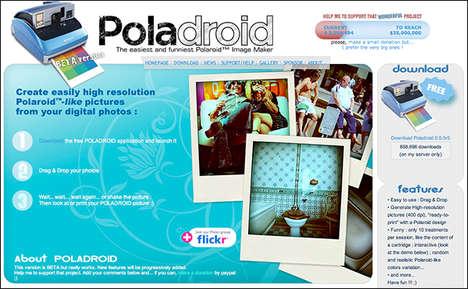 Virtual Polaroid Photos