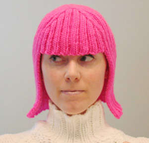 Knitted Wigs - Meg Reardon's DIY Style Statement Signals the End of Bad Hair Days