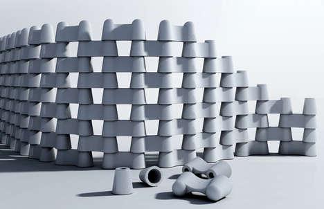 Modular Concrete Fences