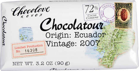 Vintage Luxury Sweets - Chocolove Delivers Quality Chocolate in Sweet Wrapper