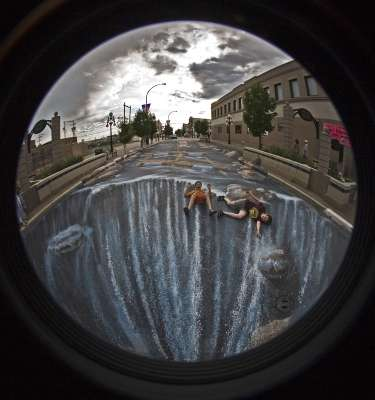 The Road River By Edgar Muller Is World's Largest 3D Graffiti