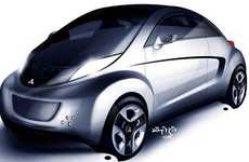 Plug-in Sports Cars - Mitsubishi Enters the EV Marketplace with the 2010 i-MiEV