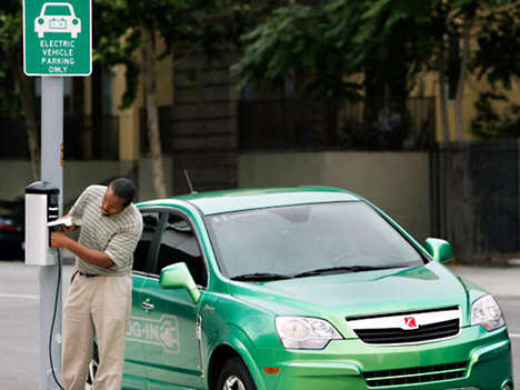 Eco-Progressive City Governments - San Francisco Goes Green with EV Charging Stations