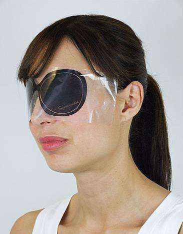Disposable Sunglasses - Azumi & David's Sticky Shades Shield Your Peepers From The Sun