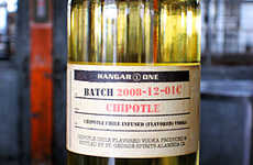 Artisan Chipotle Vodka - Hangar One's Latest Flavored Tipple Tantalizes the Tongues of Spicy Food Fa