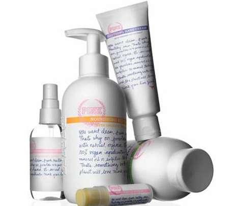 Mass-Produced Organic Cosmetics