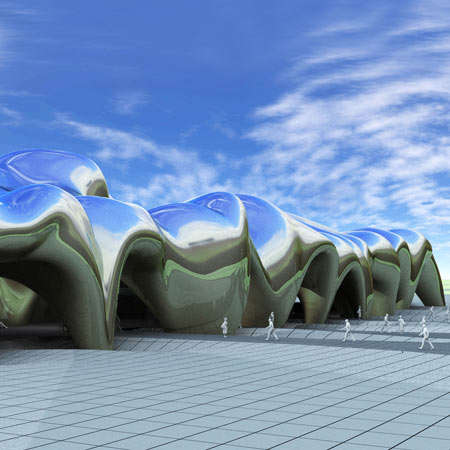 Latticed Public Architecture