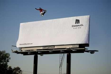 Optical Illusion Sportsvertising