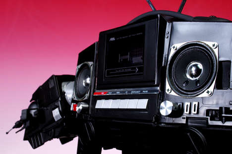 Nerd Radios - Let The AT-AT Boombox Plays Music From The Dark Side