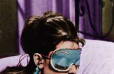 Retro Chic Eye Masks - Holly Golightly Sleep Mask Will Make You Want Breakfast at Tiffany's