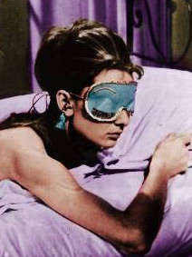 Holly Golightly Sleep Mask Will Make You Want Breakfast at Tiffany's
